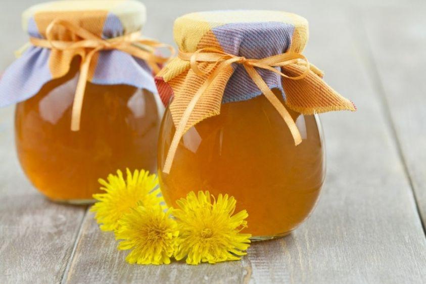 Miele vegano con il tarassaco