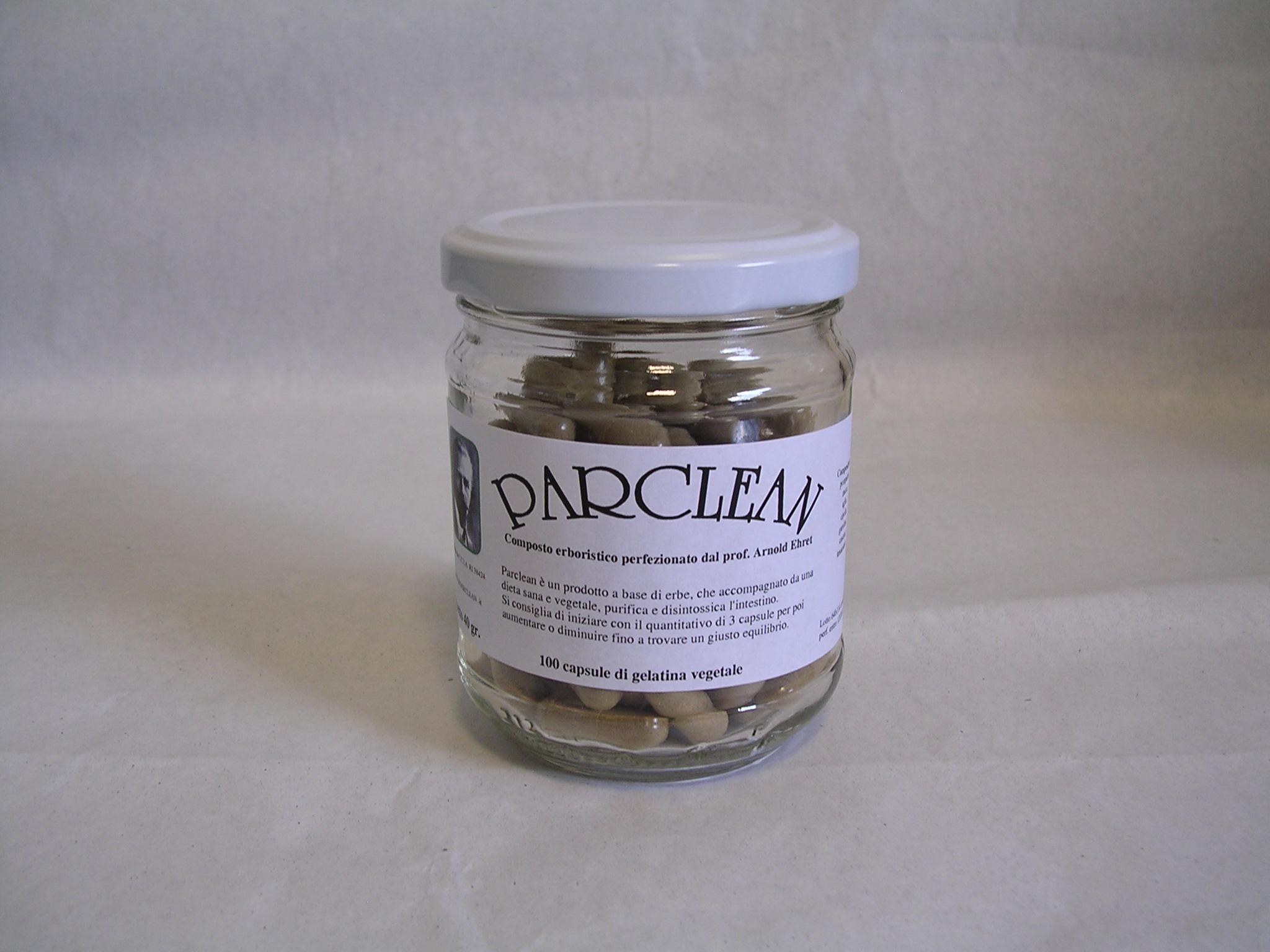 Parclean capsule