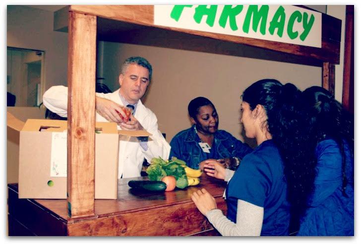 medico e frutta