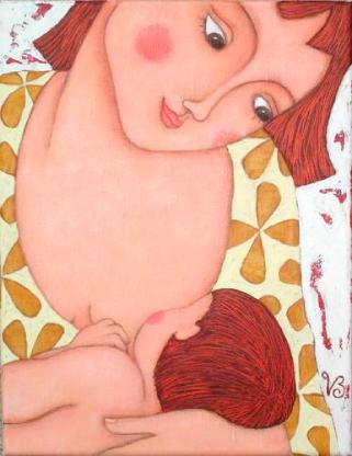 mamma che allatta